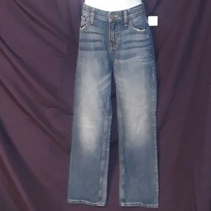 * Cat & Jack Bootcut Denim Blue Jeans Recycled